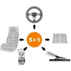 Набор для защиты салона автомобиля 5 в 1