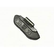 грузики балансировочные для стальных дисков 30гр (уп 100шт)